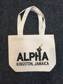 Alpha Boys JA Tote Bag (Black Print)